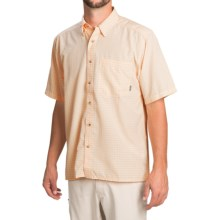 Simms Morada Shirt - UPF 30+, Button Down, Short Sleeve (For Men) in Apricot - Closeouts