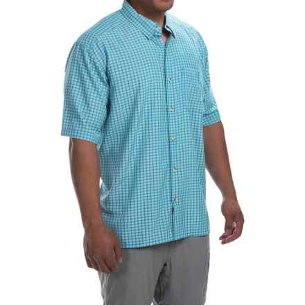 Simms Morada Shirt - UPF 30+, Button Down, Short Sleeve (For Men) in Capri - Closeouts