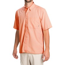 Simms Morada Shirt - UPF 30+, Button Down, Short Sleeve (For Men) in Clay - Closeouts