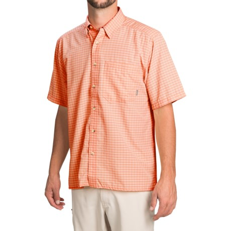 Simms Morada Shirt UPF 30+, Button Down, Short Sleeve (For Men)