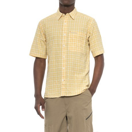 Simms Morada Shirt - UPF 30+, Button Down, Short Sleeve (For Men)