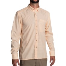 Simms Morada Shirt - UPF 30+, Long Sleeve (For Men) in Apricot - Closeouts