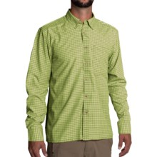 Simms Morada Shirt - UPF 30+, Long Sleeve (For Men) in Citron - Closeouts