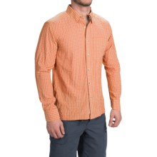 Simms Morada Shirt - UPF 30+, Long Sleeve (For Men) in Clay - Closeouts