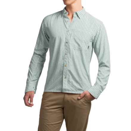 Simms Morada Shirt - UPF 30+, Long Sleeve (For Men) in Heron - Closeouts