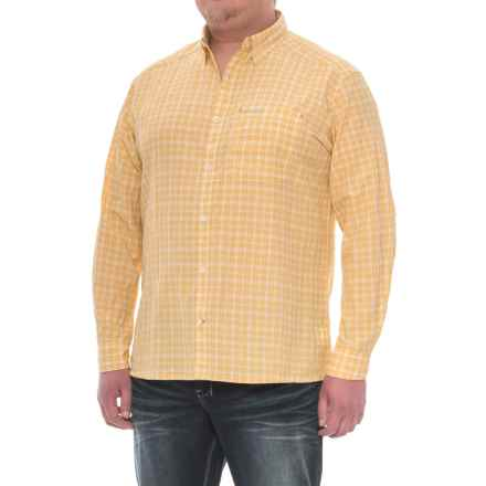 Simms Morada Shirt - UPF 30+, Long Sleeve (For Men) in Light Yellow Plaid - Closeouts