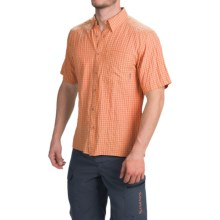 Simms Morada Shirt - UPF 30+, Short Sleeve (For Men) in Clay - Closeouts