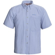Simms Morada Shirt - UPF 50+, Short Sleeve (For Men) in River Plaid - Closeouts