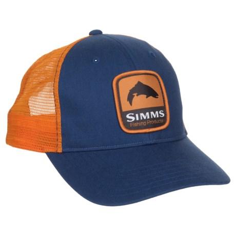 Simms Patch Trucker Hat in Dusk