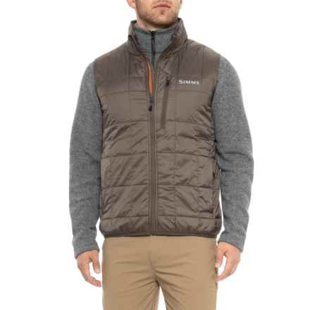 Simms PrimaLoft® Gold Vest - Insulated (For Men) in Hickory - Closeouts