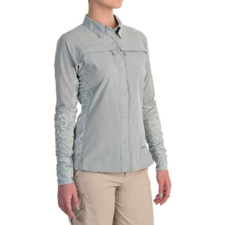 Simms Pro Reina Shirt - UPF 20+, Long Sleeve (For Women) in Moonstone - Closeouts