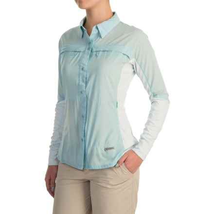 Simms Pro Reina Shirt - UPF 20+, Long Sleeve (For Women) in Seafoam - Closeouts
