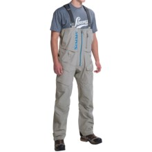 Simms ProDry Gore-Tex® Bib Pants - Waterproof (For Men) in Boulder - Closeouts