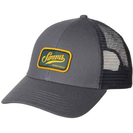 1ce3ee1a1693e Simms Retro Trucker Hat (For Men and Women) in Anvil