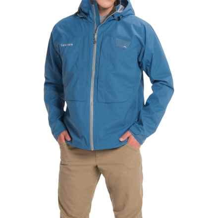 Simms Riffle Jacket - Waterproof (For Men) in Tidal Blue - Closeouts