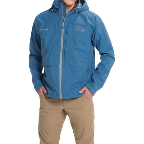 Simms Riffle Jacket - Waterproof (For Men) in Tidal Blue