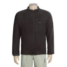 Simms Rivershed Cardigan Fleece Jacket - Polartec® Thermal Pro® (For Men) in Black - Closeouts