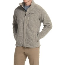 Simms Rivershed Sweater Jacket - UPF 30, Full Zip (For Men) in Cork - Closeouts