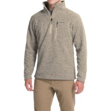 Simms Rivershed Sweater - UPF 30, Zip Neck (For Men) in Cork - Closeouts