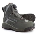 Simms Rivertek 2 Boa Wading Boots - Rubber Sole (For Men)