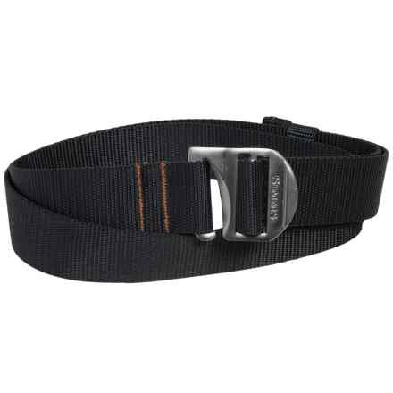 Simms Rivertek Adjustable Belt (For Men and Women) in Black - Closeouts