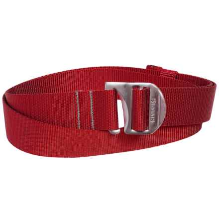 Simms Rivertek Adjustable Belt (For Men and Women) in Brick - Closeouts