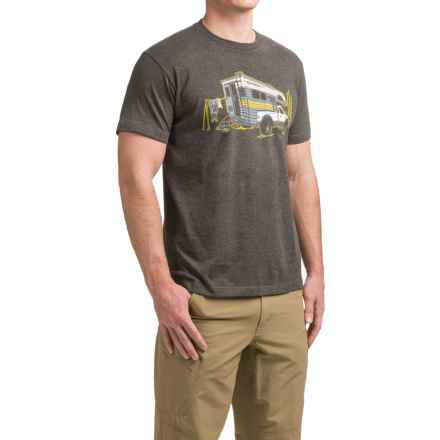 Simms Road Warrior T-Shirt - Short Sleeve (For Men) in Charcoal Heather - Closeouts