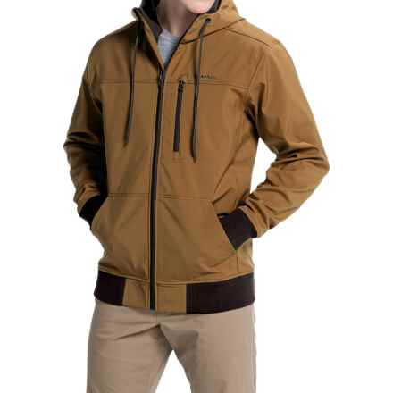 Simms Rogue Fleece Hoodie Sweatshirt (For Men) in Honey Brown - Closeouts