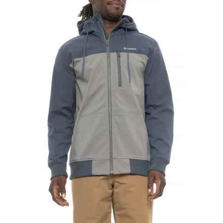 Simms Rogue Fleece Hoodie Sweatshirt (For Men) in Pewter - Closeouts