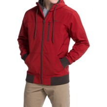 Simms Rogue Fleece Hoodie Sweatshirt (For Men) in Ruby - Closeouts