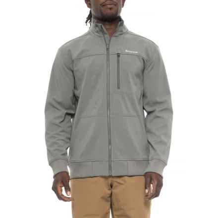Simms Rogue Fleece Jacket (For Men) in Pewter - Closeouts