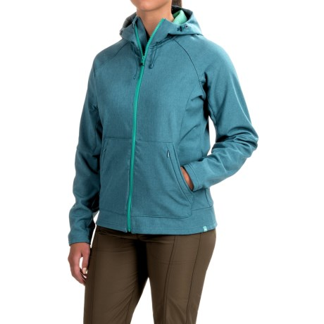 Simms Rogue Hooded Jacket - UPF 30+, Full Zip (For Women) in Ink