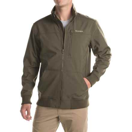 Simms Rogue Jacket (For Men) in Dark Olive - Closeouts