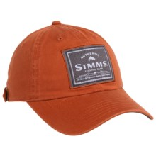 Simms Single Haul Hat - UPF 50+ in Simms Orange - Closeouts