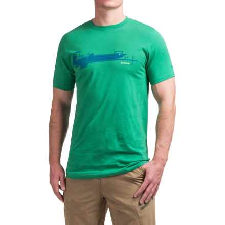 Simms Skiff T-Shirt - Short Sleeve (For Men) in Shamrock - Closeouts