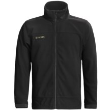 Simms Skiff Windstopper® Jacket (For Men) in Anthracite Black - Closeouts