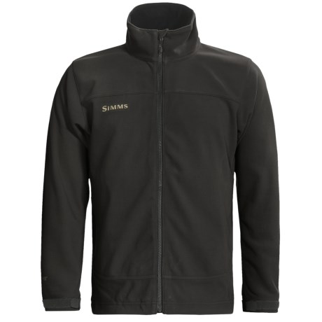 Simms Skiff Windstopper® Jacket (For Men) in Anthracite Black