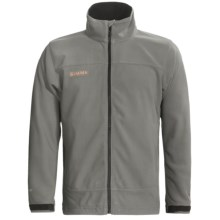 Simms Skiff Windstopper® Jacket (For Men) in Gargoyle - Closeouts