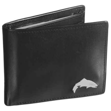 Simms Sky Wallet in Black - Closeouts