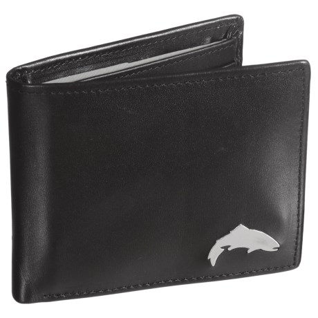 Simms Sky Wallet in Black