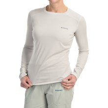 Simms Solarflex Artist Series Shirt - UPF 50+, Long Sleeve (For Women) in Grey - Closeouts