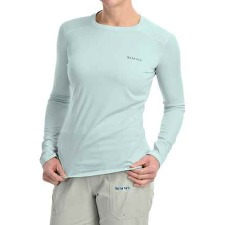 Simms Solarflex Artist Series Shirt - UPF 50+, Long Sleeve (For Women) in Larko Trout Frost - Closeouts