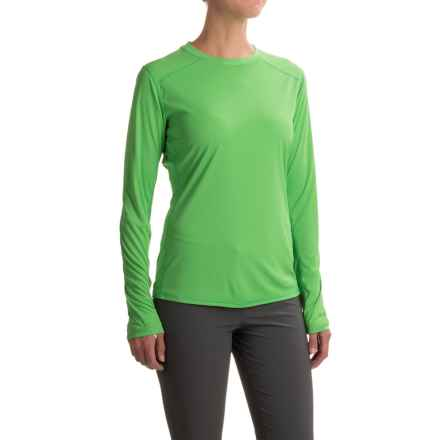 Simms Solarflex Artist Series Shirt - UPF 50+, Long Sleeve (For Women) in Larko Trout Spring Green - Closeouts