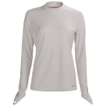 Simms Solarflex Crew Shirt - Long Sleeve (For Women) in Grey - Closeouts