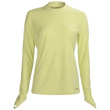 Simms Solarflex Crew Shirt - Long Sleeve (For Women) in Limeade - Closeouts