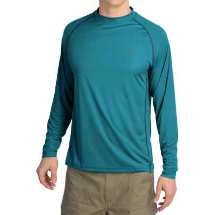 Simms Solarflex Crew Shirt - UPF 50+, Long Sleeve (For Men) in Lake - Closeouts