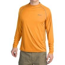 Simms Solarflex Crew Shirt - UPF 50+, Long Sleeve (For Men) in Marigold - Closeouts