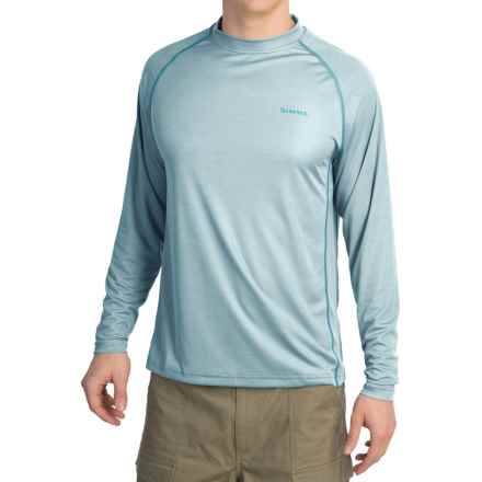 Simms Solarflex Crew Shirt - UPF 50+, Long Sleeve (For Men) in Slate Blue - Closeouts