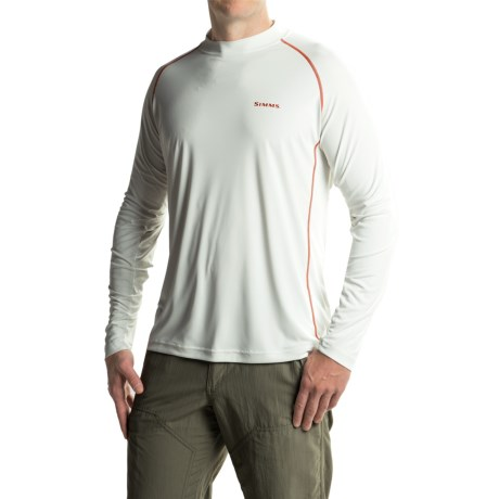 Simms Solarflex Crew Shirt - UPF 50+, Long Sleeve (For Men)
