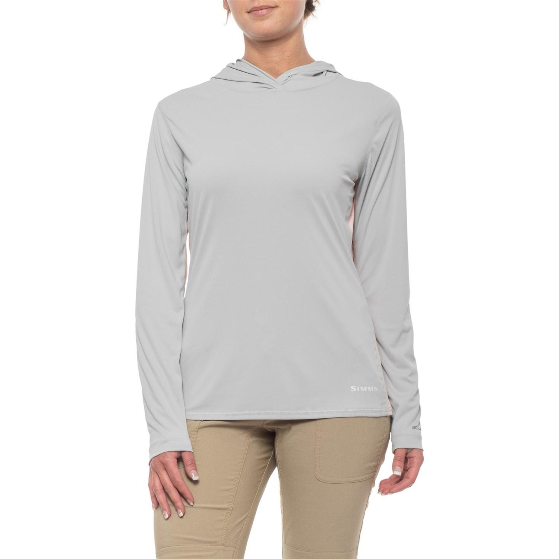 6d5607238 Simms SolarFlex Hoodie Shirt - UPF 50+, Long Sleeve (For Women) in ...